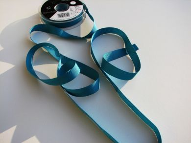 16mm Grosgrain Ribbon Turquoise