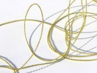 Gold Beaded String