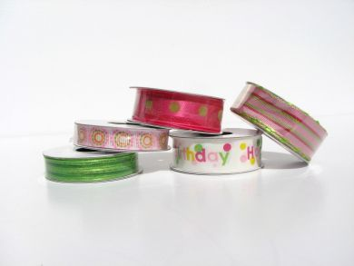 Pink Birthday Ribbon Pack