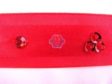 Red Beaded Ribbon