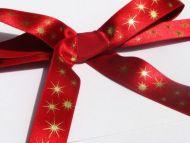 Red Stargaze Ribbon