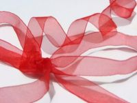 Super Sheer Ribbon Red