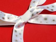 White Silver Stargaze Ribbon