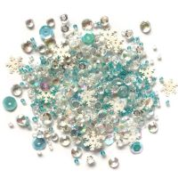 Snow Crystals Sequin Mix