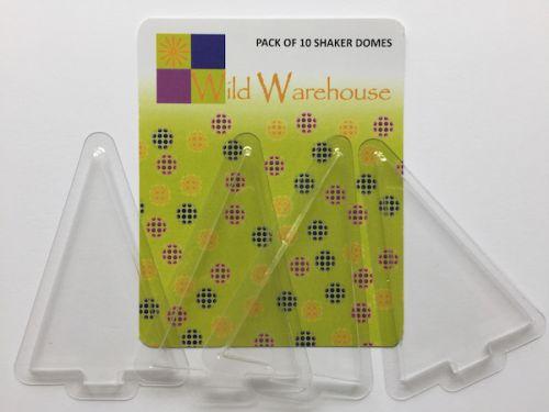Transparent Plastic Shaker Domes Christmas Tree