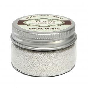 Opaque Micro Beads Snow White