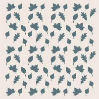 Sentimentally Yours Falling Leaves Stencil