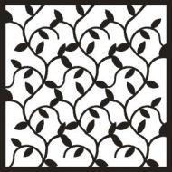 Ivy Background 6 x 6 inch Stencil