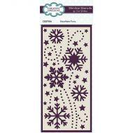 Snowflake Flurry Slimline Stencil