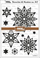 Starlight Rosette Stencil