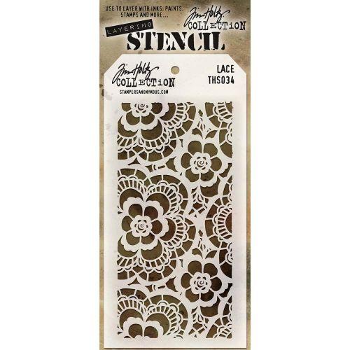 Tim Holtz Layering Stencil Lace