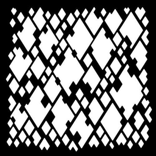 Woodware Diamond Mesh Stencil