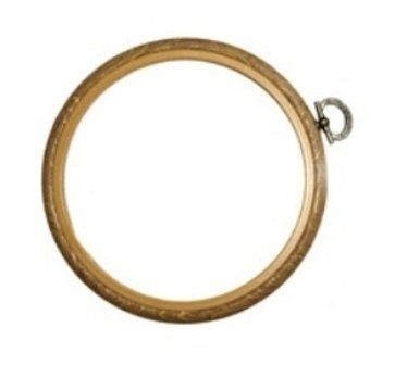 Wood Grain Effect Embroidery Flexi Hoop (OUT OF STOCK)