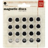 Self Adhesive Magnetic Discs Small