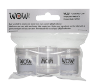 WOW Create Your Own Empty Jars