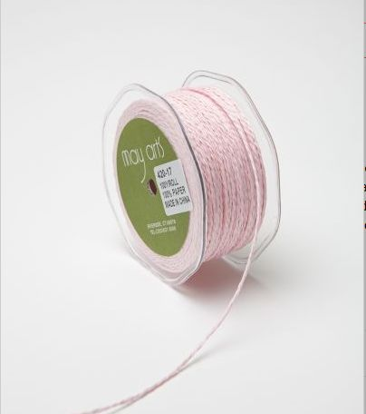 Paper Cord Pink