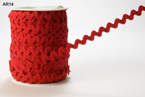 5mm Ric Rac Red