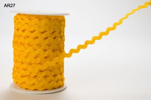 5mm Ric Rac Yellow