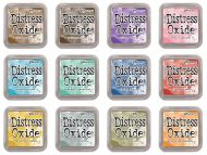 Tim Holtz Distress Oxide Ink Pads Release 1 Set