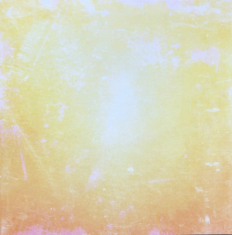 Grunge light tones paper pad yellow