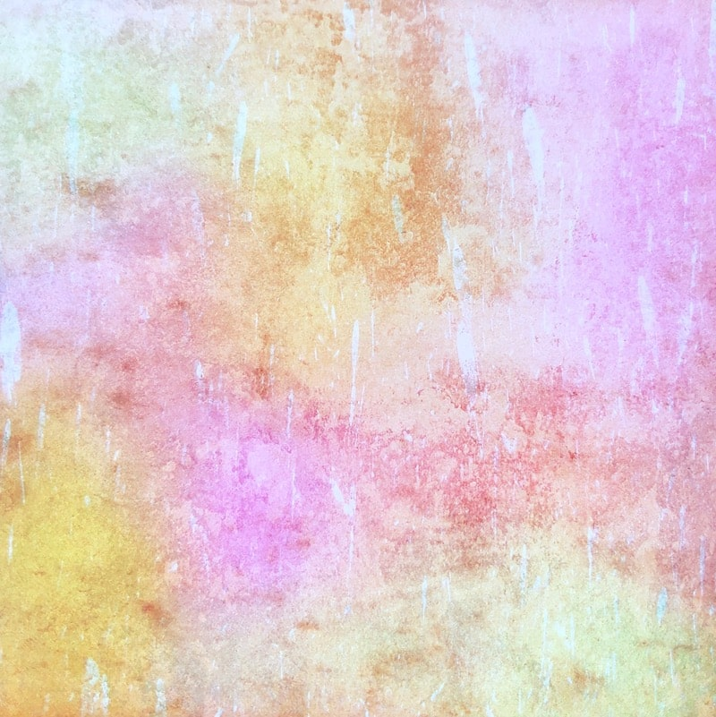 Grunge light tones paper pad mixed pink and yellow