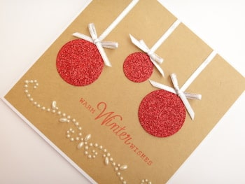 christmas-card-glitter-baubles-kraft-card